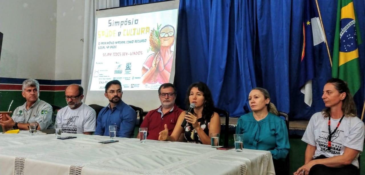 Islândia Carvalho - Simpósio Saúde e Cultura: o patrimônio imaterial como recurso social na saúde